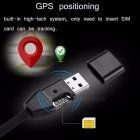USB-Datensynchronisations-Ladekabel Style GIM S8 GPS-Tracker - schwarz
