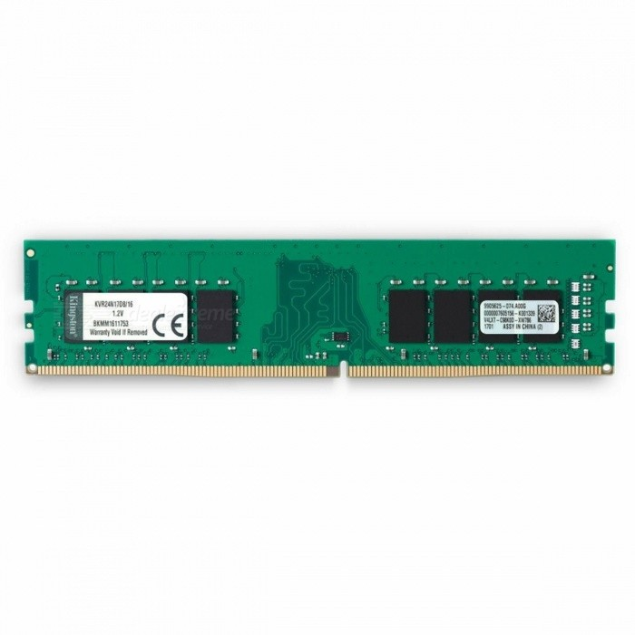 Kingston KVR24N17D8/16 16GB ValueRAM Desktop Ram Memory Module for sale in Bitcoin, Litecoin, Ethereum, Bitcoin Cash with the best price and Free Shipping on Gipsybee.com