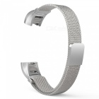 Miimall-Milanese-Loop-Watch-Band-for-Fitbit-Alta-Alta-HR-Silver