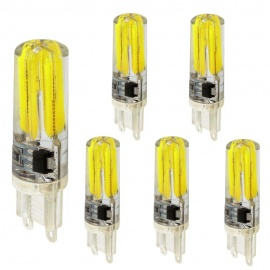 KWB-G9-5W-COB-Cold-White-Double-Side-Lighting-Silicone-Bulbs-(6-PCS)