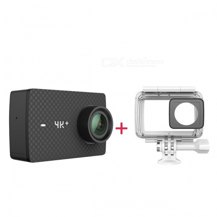 Internationell version Xiaomi YI 4K + 60fps Action Camera w / Case