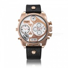 CAGARNY-6822-Leather-Quartz-Analog-Wrist-Watch-White-2b-Rose-Gold