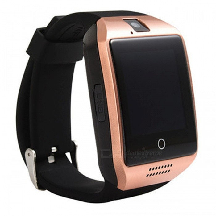 Q18 Plus 3G Android Wi-Fi Bluetooth inteligentní hodinky - Rose Gold