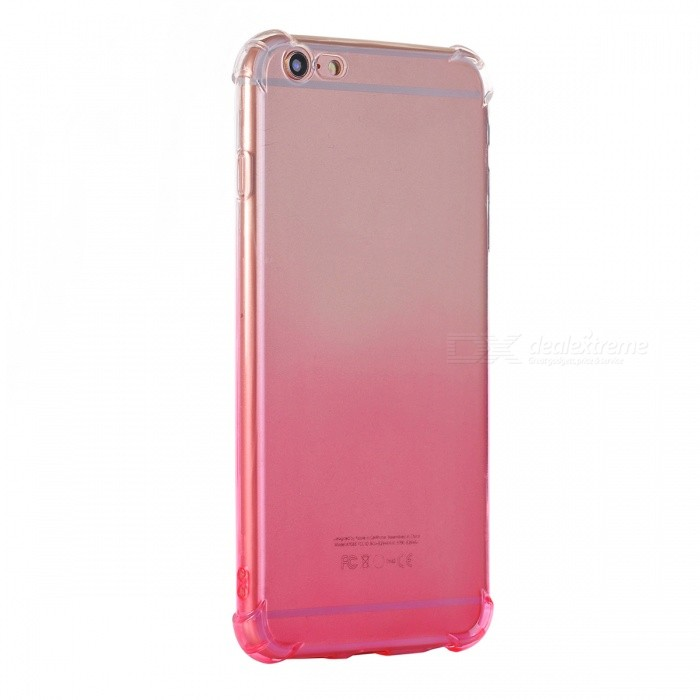 Kitbon Gradient Back Väska till IPHONE 6 Plus-Transparent Pink