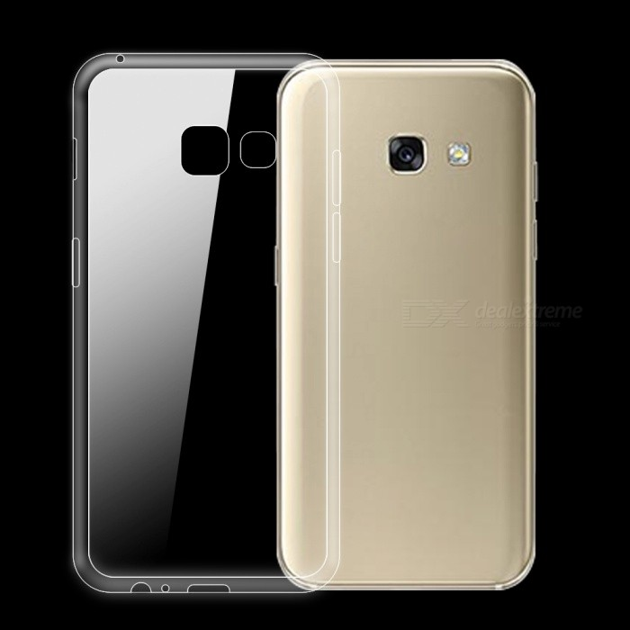 Dayspirit Ultra-thin TPU Back Case for Samsung Galaxy A3 (2017) A320TPU Cases<br>Form  ColorTransparentQuantity1 DX.PCM.Model.AttributeModel.UnitMaterialTPUShade Of ColorTransparentCompatible ModelsSamsung Galaxy A3(2017) A320DesignSolid Color,TransparentStyleBack CasesPacking List1 x Case<br>