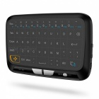 H18 2.4GHz Mini Wireless Keyboard Air Mouse w/ Touchpad - Black
