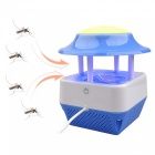 USB Electric Mosquito Eradication Fly Bug Zapper Killer w / LED Light