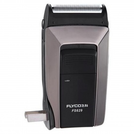 Flyco FS629 Rechargeable Reciprocating Electric Shaver -Black + Golden