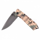 CTSmart F94 Outdoor Camping Faltmesser - ACU Camouflage