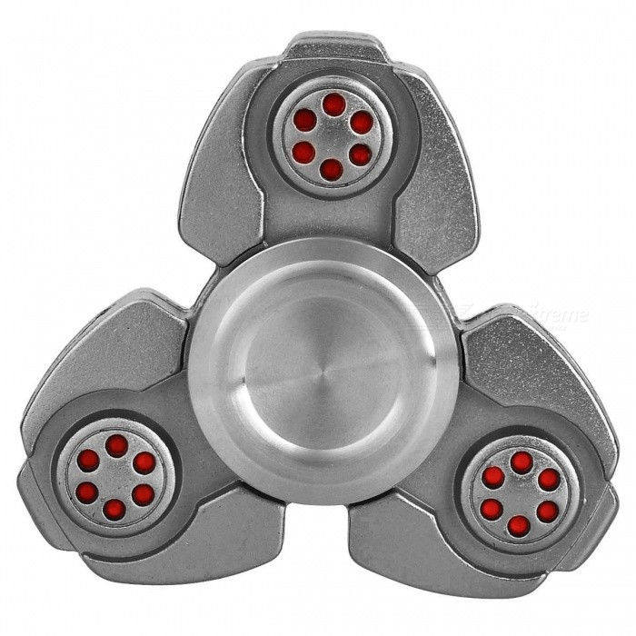 BLCR Tri-Spinner Fidget Toy EDC Finger Spinner for Autism - BlackFinger Toys<br>Form  ColorBlackMaterialZinc AlloyQuantity1 DX.PCM.Model.AttributeModel.UnitSuitable Age 8-11 years,12-15 years,Grown upsPacking List1 x Fidget spinner<br>