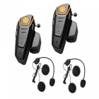 1000m-5-Rider-FM-Motorcycle-Helmet-Bluetooth-Interphone-US-Plugs2PCS