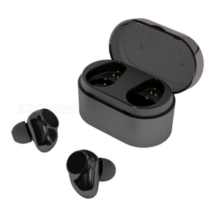 X7 Touch True Bluetooth inalámbrico auriculares estéreo Mini Earbud - Negro