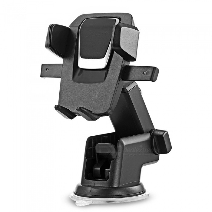 Buy KELIMA 360 Degree Rotation Car Mobile Phone Suction Bracket Holder with Litecoins with Free Shipping on Gipsybee.com