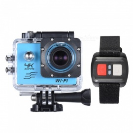 16MP 170 Degre Wide-Angle Wi-Fi Sports Action Camera with 16GB Memory