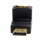 CY DP-086-DN Down Angled 90 Degree DisplayPort Male to Female Adapter