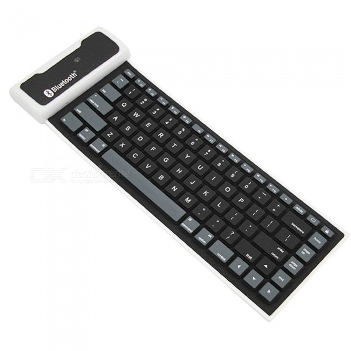 Dayspirit Soft Faltbare Bluetooth V3.0 84-Key Tastatur für IPAD 2/3/4
