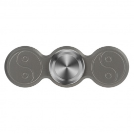 FURA-Eight-Diagrams-Pattern-Titanium-Alloy-Hand-Spinner-Grey