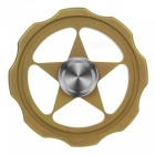FURA-TC4-Hollow-out-Star-Titanium-Alloy-Hand-Spinner-Toy-Golden