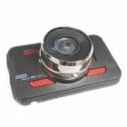 "A8 3,0"" High Definition 1080P Wide Angle 170-Degree Car DVR - Svart"