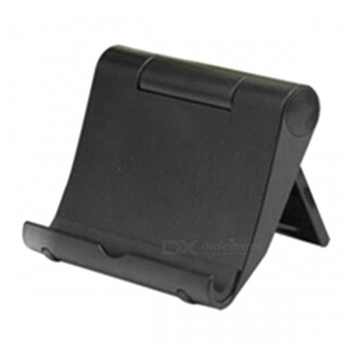 Buy Universal Desktop Mount Stand for Mobile Phone / Tablet - Black with Litecoins with Free Shipping on Gipsybee.com
