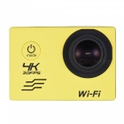 16MP 170 Degre Wide-Angle Wi-Fi Sports Action Camera with 32GB Memory