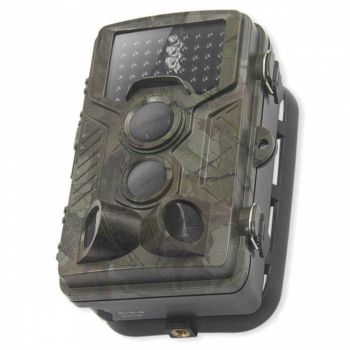 Portable Hunting Camera, 1080P Wild Surveillance Camera with 0.5S Trigger