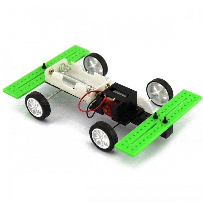 Manual DIY Assembly Model Car Toy 2 x AA Batteries (Not Included)Educational Toys<br>Form  ColorBlack + White + Multi-ColoredMaterialPlasticQuantity1 DX.PCM.Model.AttributeModel.UnitSuitable Age 5-7 years,8-11 years,12-15 years,Grown upsPacking List1 x Model car material package<br>
