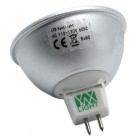 ywxlight MR16 128-LED 400-500lm 3-farbiger LED-Strahler (AC 110-130V)