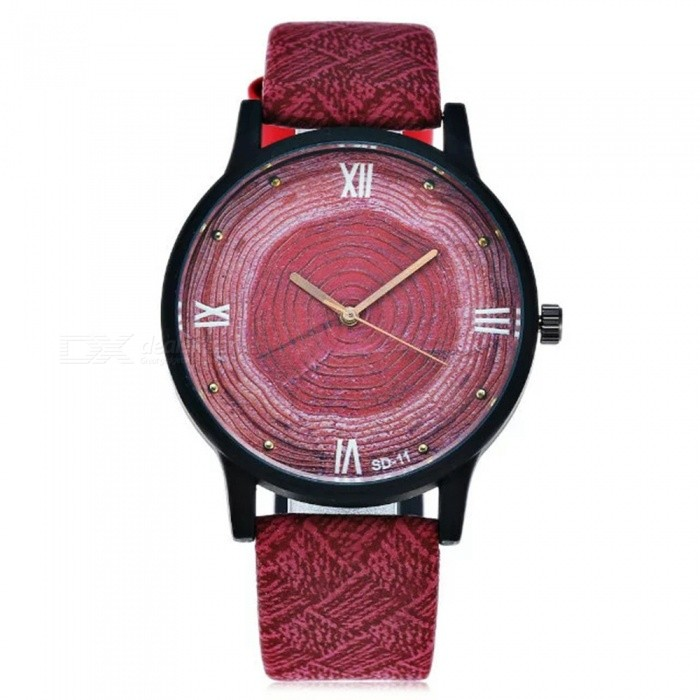 Casual Vintage Womens Quartz Watch with Leather Strap - RedWomens Dress Watches<br>Form  ColorRedQuantity1 DX.PCM.Model.AttributeModel.UnitShade Of ColorRedCasing MaterialStainless steelWristband MaterialLeatherGenderWomenSuitable forAdultsStyleWrist WatchTypeCasual watchesDisplayDigitalBacklightNoMovementQuartzDisplay Format12 hour formatWater ResistantWater Resistant 3 ATM or 30 m. Suitable for everyday use. Splash/rain resistant. Not suitable for showering, bathing, swimming, snorkelling, water related work and fishing.Dial Diameter4 DX.PCM.Model.AttributeModel.UnitDial Thickness0.8 DX.PCM.Model.AttributeModel.UnitBand Width5 DX.PCM.Model.AttributeModel.UnitWristband Length25 DX.PCM.Model.AttributeModel.UnitBatterySR626-06Packing List1 x Watch<br>
