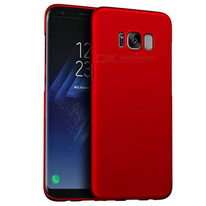 cheaper cbc50 db8f1 Naxtop PC Hard Protective Back Case for Samsung Galaxy S8 Plus - Red