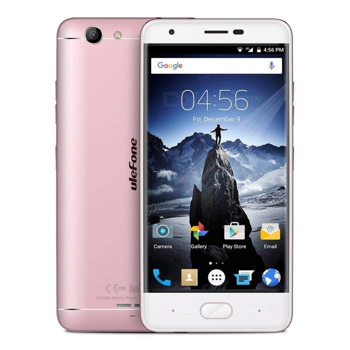 ulefone U008 pro android 6.0 älypuhelin, 2 Gt: n RAM-muistia, 16 Gt ROM - rose golden