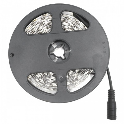 SZFC 5m 300LED Warm White Non-Waterproof LED Strip with Power Adapter