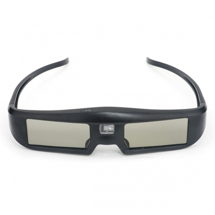 JEDX G06-DLP 3D Active Shutter DLP-Link Glasses for Projector - Black