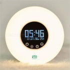 YWXLight-RGB-Color-LED-Smart-Clock-Lamp-White