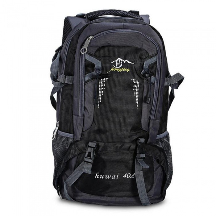 Multifunctional Waterproof Nylon 40L Sports Backpack - Black for sale in Bitcoin, Litecoin, Ethereum, Bitcoin Cash with the best price and Free Shipping on Gipsybee.com
