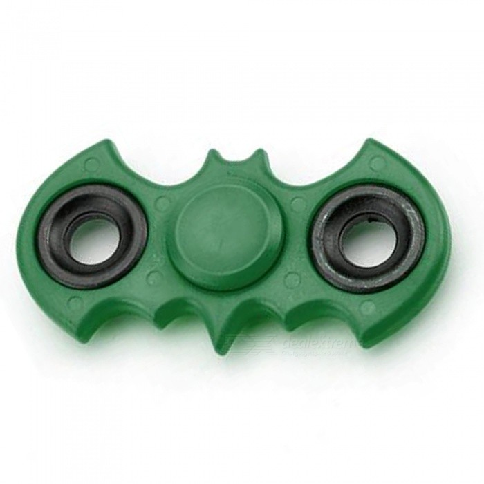 Buy Dayspirit ABS Bat Style Finger Stress Relief Gyro Rotator Toy - Green with Litecoins with Free Shipping on Gipsybee.com