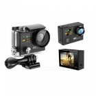 H8RS 4K HD Waterproof Sports Camera with 2.4G Remote Control - Black