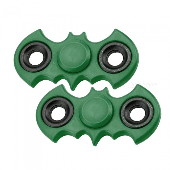 Dayspirit ABS Finger Stress Relief Gyro Rotator Toys - Green (2 PCS)Finger Toys<br>Form  ColorGreen (2PCS)MaterialABSQuantity1 DX.PCM.Model.AttributeModel.UnitSuitable Age 5-7 years,8-11 years,12-15 years,Grown upsPacking List2 x Spinners<br>