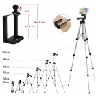 Cwxuan Retractable Tripod Mount Holder, jossa on Bluetooth Control-Silver