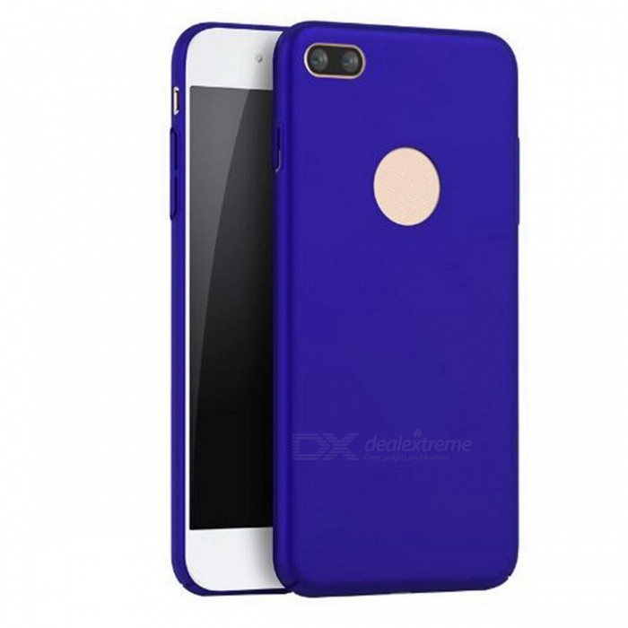 Naxtop PC Hard Protective Back Case for Apple IPHONE 7 - BluePlastic Cases<br>Form  ColorBlue for IPHONE 7Quantity1 DX.PCM.Model.AttributeModel.UnitMaterialPCCompatible ModelsiPhone 7DesignSolid ColorStyleBack Cases,Full Body CasesPacking List1 x Case<br>