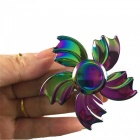 OJADE Five Leaves Shape Spinner Fidget Fingertips Gyro Toy - Färgrik