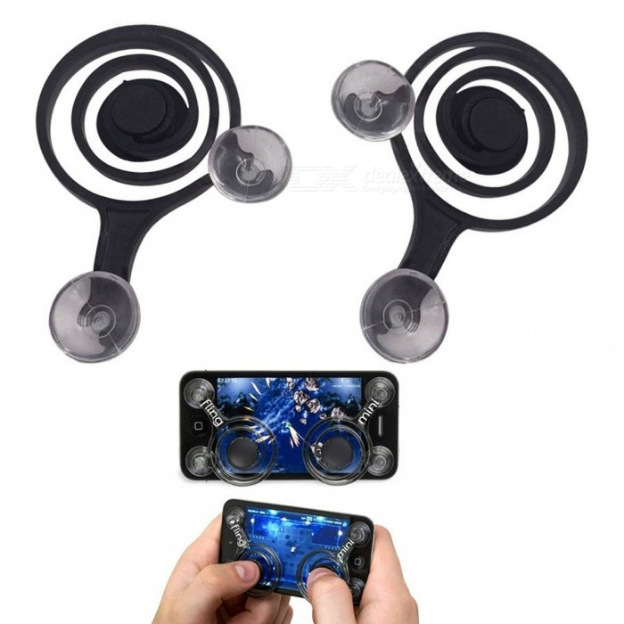 Buy Mobile Game Joystick Mobile Phone Game Rockers (2 PCS) with Litecoins with Free Shipping on Gipsybee.com