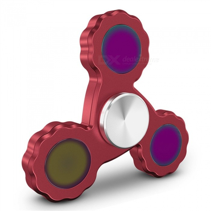 OJADE-Fidget-Hand-Spinner-EDC-Focus-Stress-Relief-Toy-Red