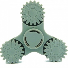 OJADE ABS Fidget Stress Relief Hand Spinner Finger Toy - Army Green