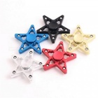OJADE Five Pointed Star Fidget Toy Hand Spinner Finger Toy - Röd