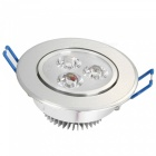 YouOKLight 3W varmvit LED Downlight taklampa, AC85-265V, 10 PCS