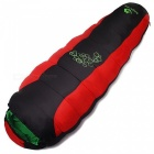 Hasky-Thicken-Four-Holes-Cotton-Outdoor-Camping-Sleeping-Bag-Red