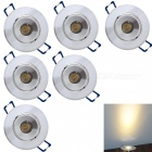 YouOKLight-1W-Warm-White-LED-Downlight-Ceiling-Lamps-AC85-265V-6PCS