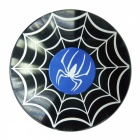 Dayspirit Spider Pattern Finger Toy EDC Hand Spinner - Svart
