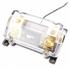 IZTOSS-F1602-Fuse-Holder-with-Voltage-for-Car-Trailer-White